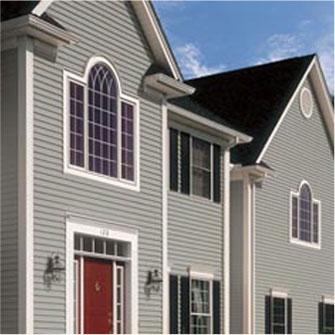 Vinyl Siding Collection home